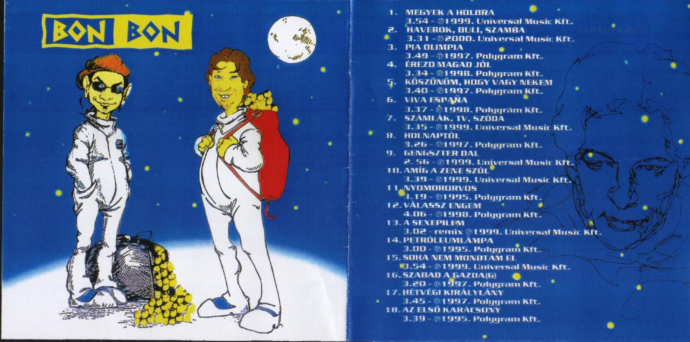 Bon Bon Időutazás 1995-2000