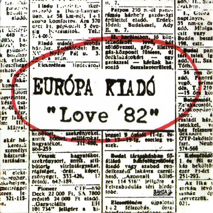 Európa Kiadó Love '82