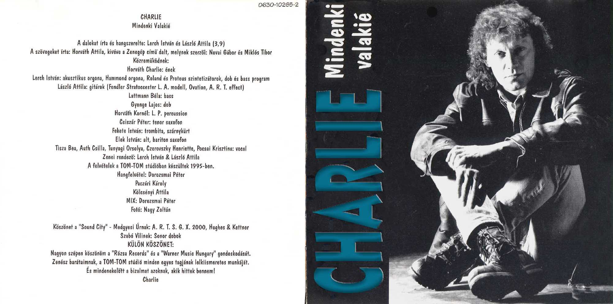 Charlie Mindenki valakié