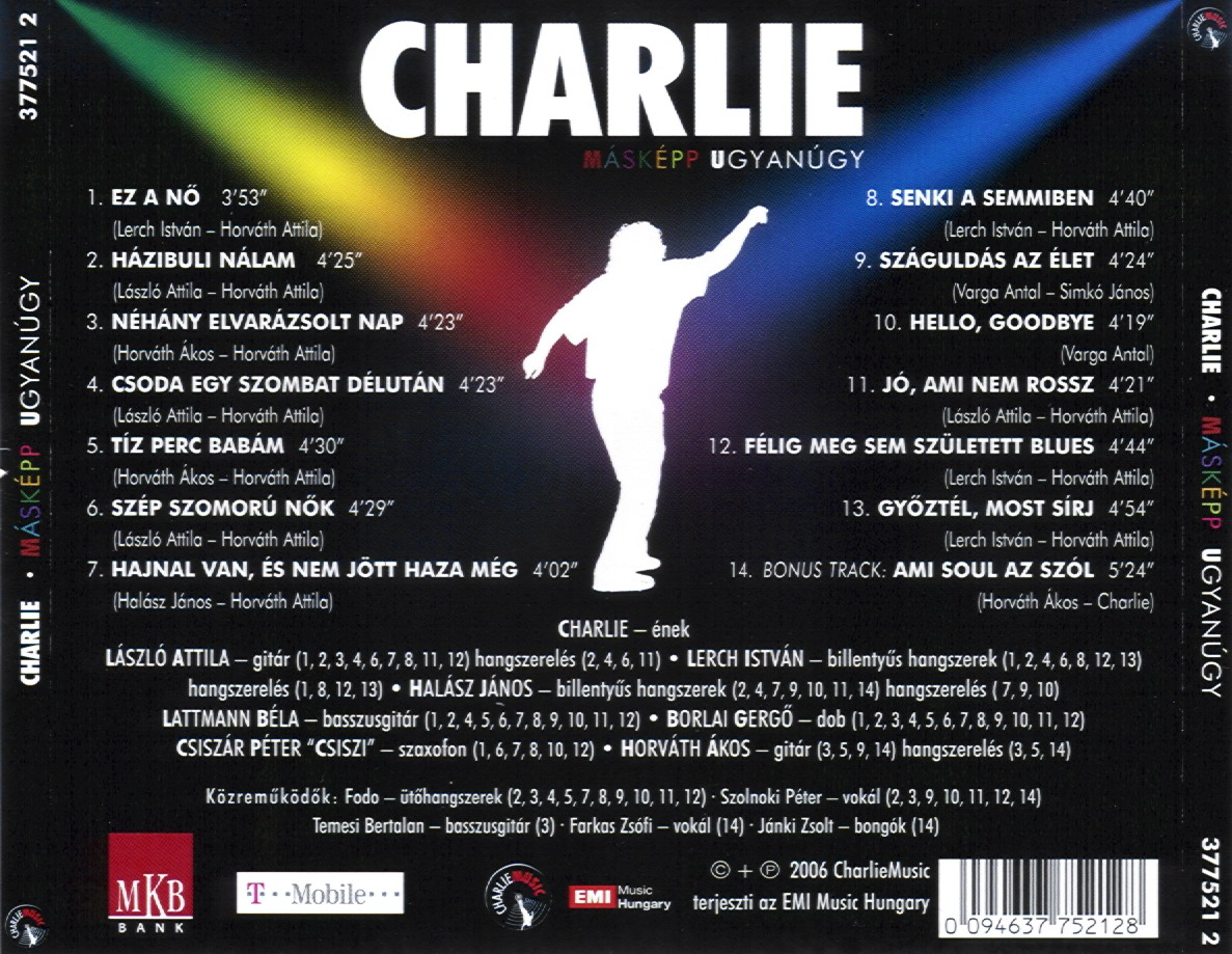 Charlie Másképp ugyanúgy
