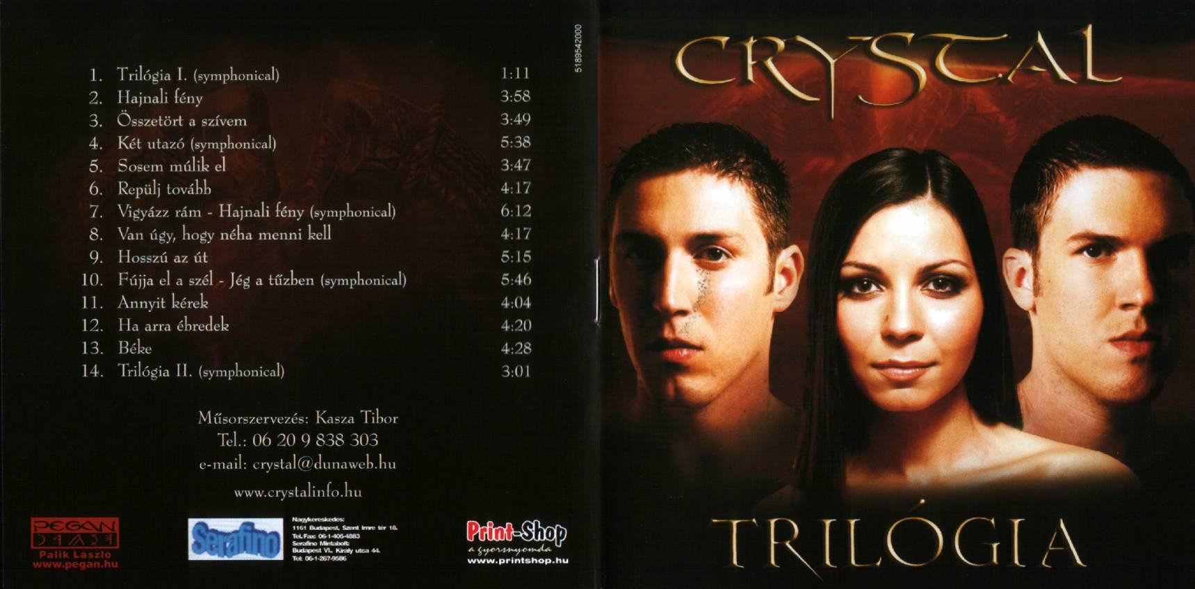 Crystal Trilógia