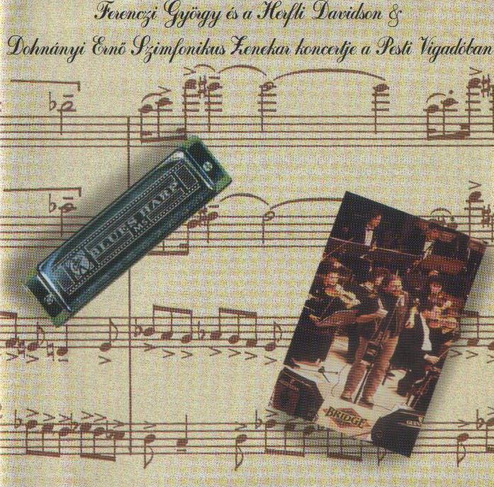 Ferenczi György és a Herfli Davidson Szimfonikus Zenekar koncert