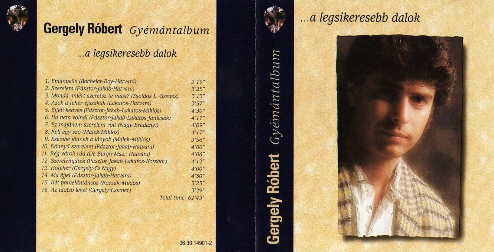 Gergely Róbert Gyémántalbum