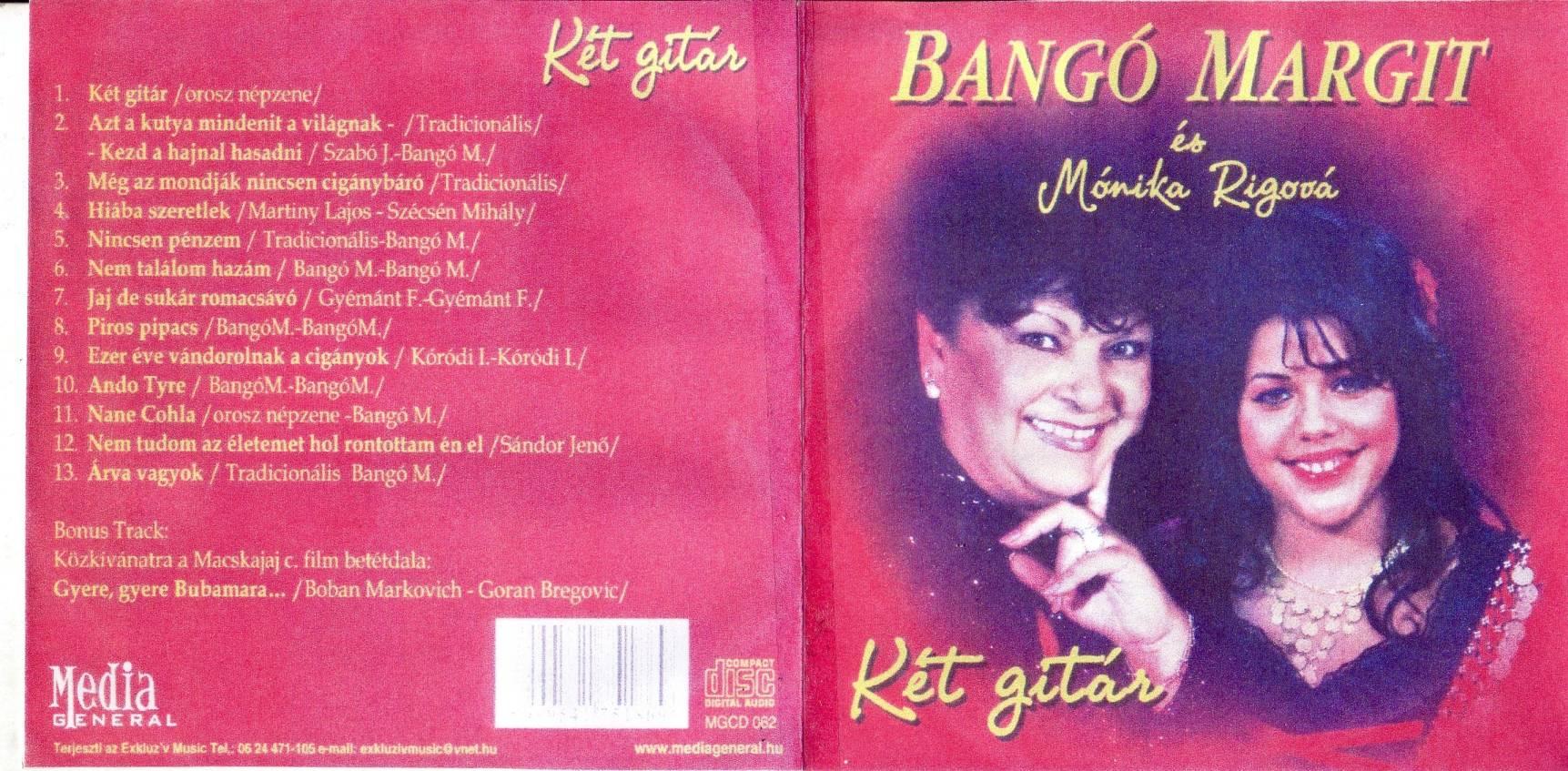 Bangó Margit Két gitár