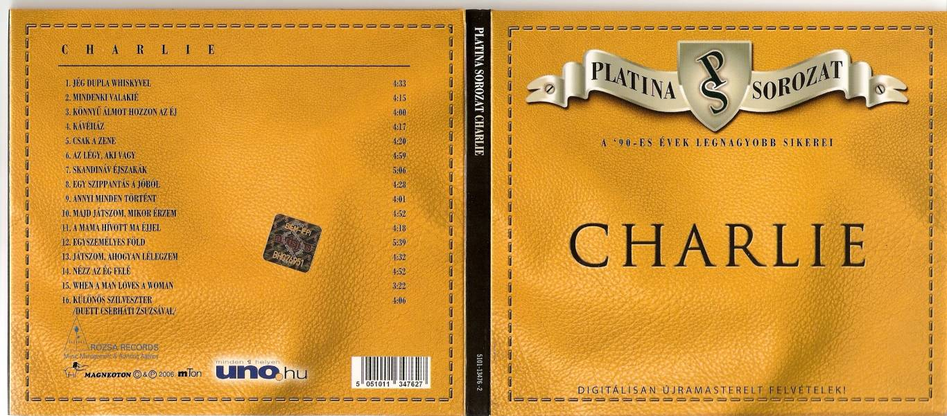Charlie Platina sorozat