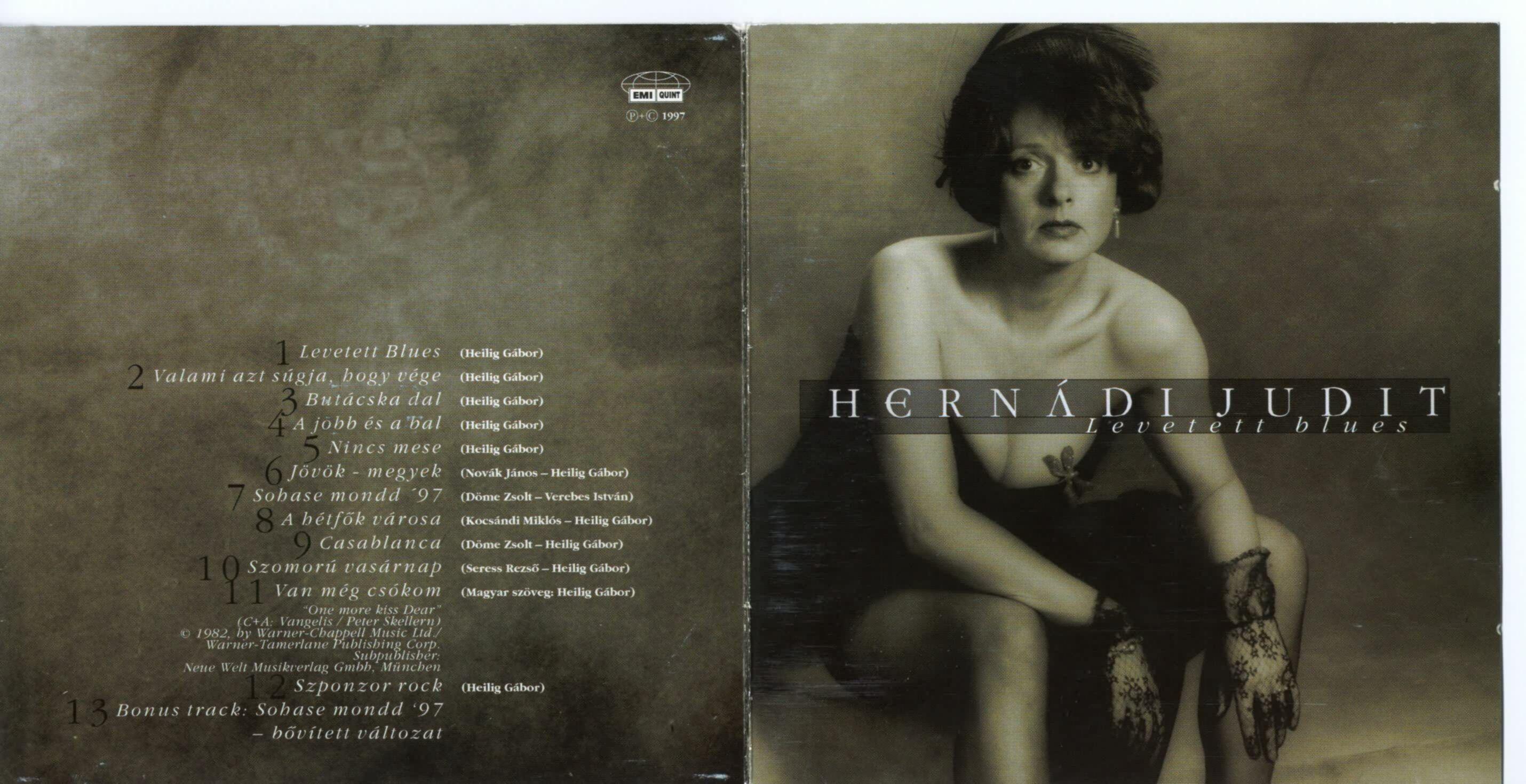 Hernádi Judit Levetett blues