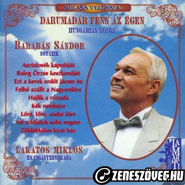 Barabás Sándor Darumadár fenn az égen