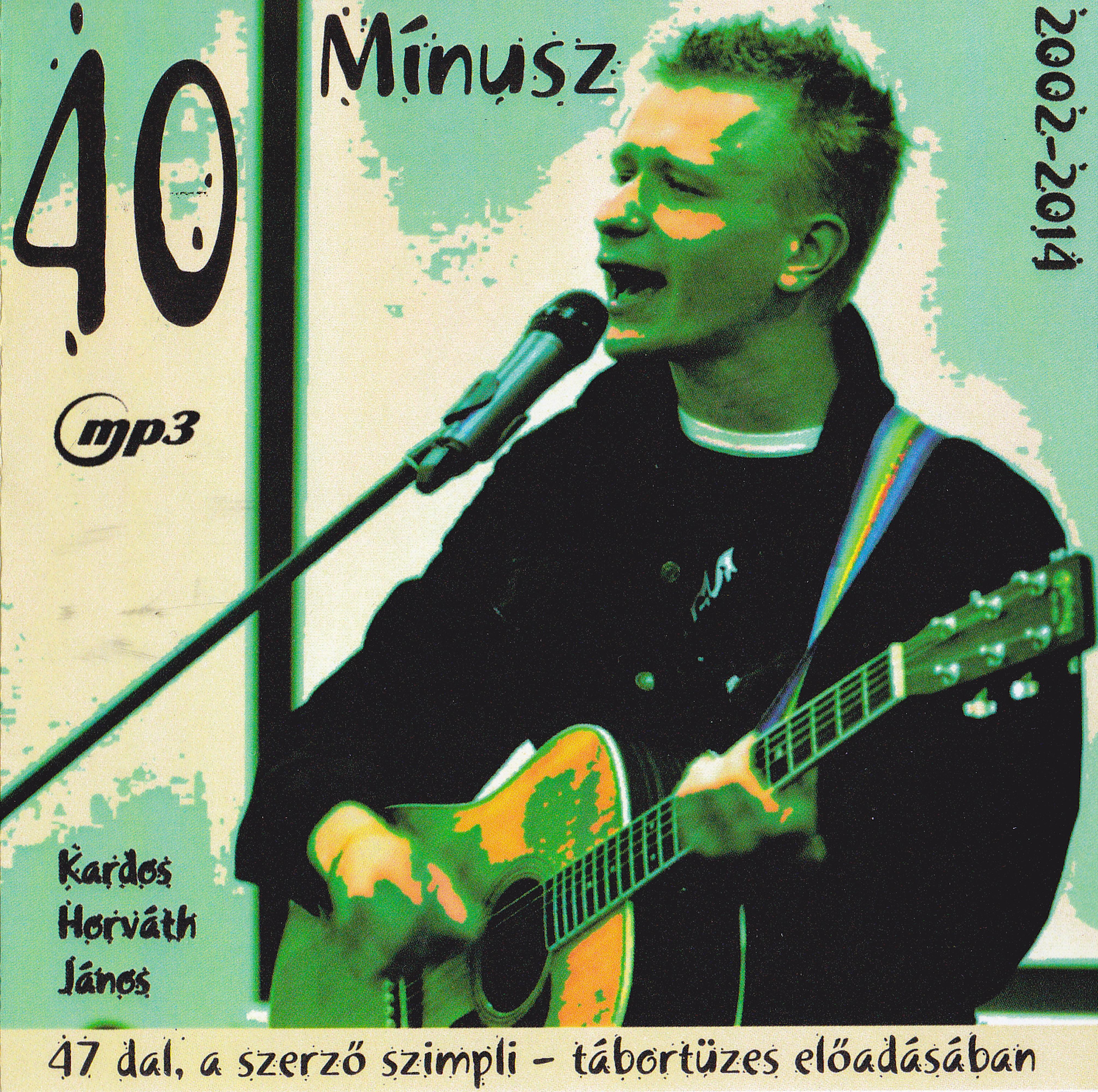 Kardos-Horváth János 40 Mínusz