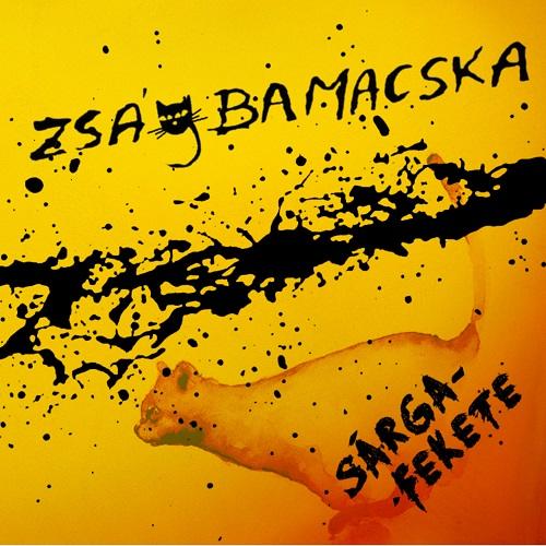 ZságbaMacska Sárga-Fekete