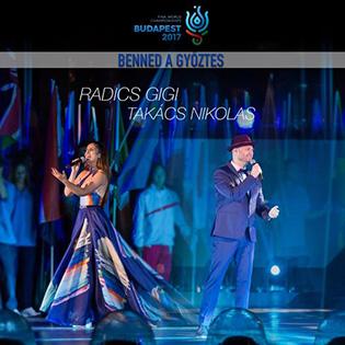 Radics Gigi Benned a győztes feat. Takács Nikolas