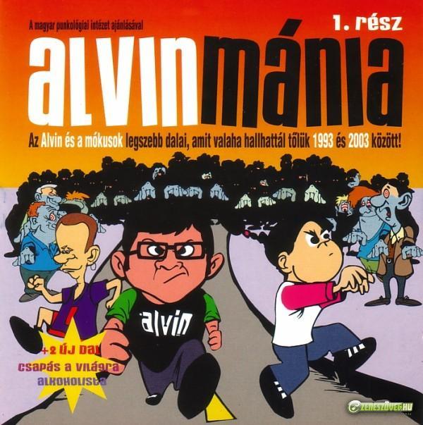 Alvin és a mókusok Alvinmánia 1.rész