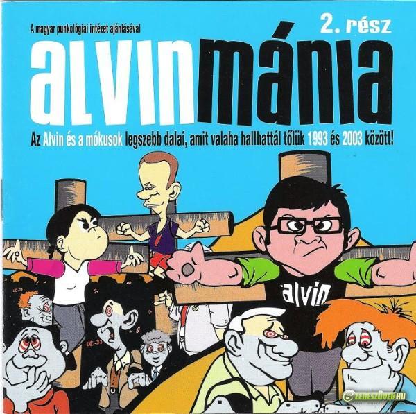 Alvin és a mókusok Alvinmánia 2.rész