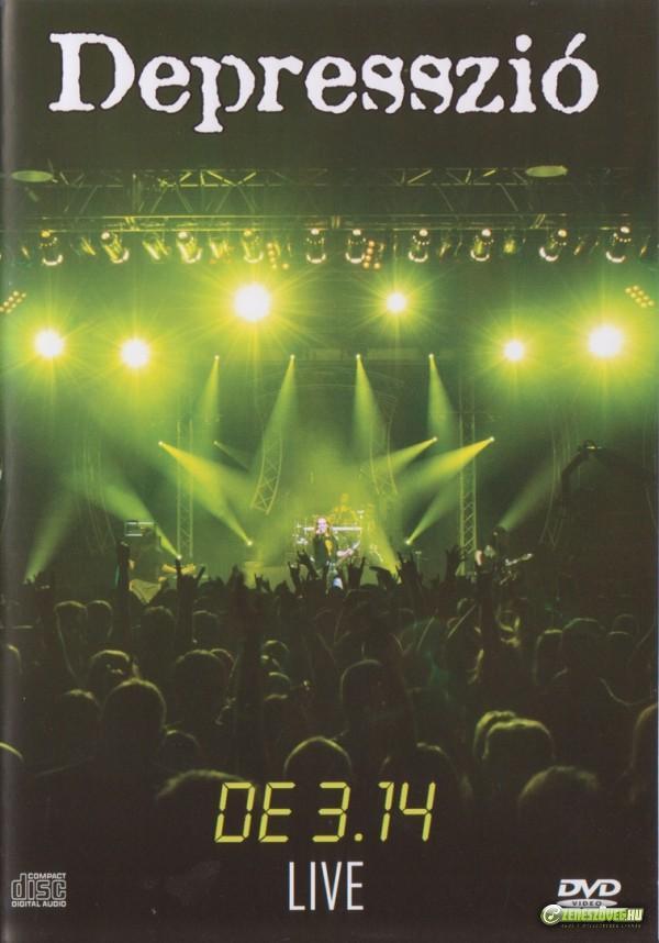 Depresszió De 3.14 Live (DVD)