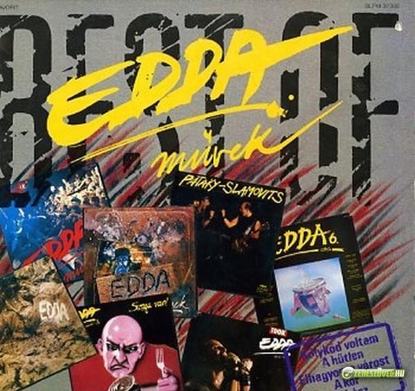 Edda Művek Best Of Edda 1980-1990 (LP)
