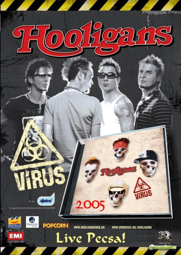 Hooligans Vírus (DVD)