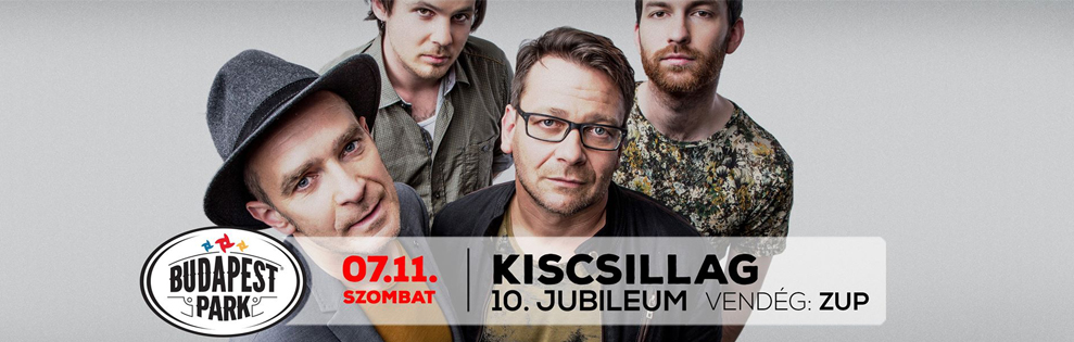 Kiscsillag koncert Budapest Park