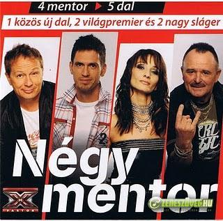 X-faktor  Négy mentor - 5 dal