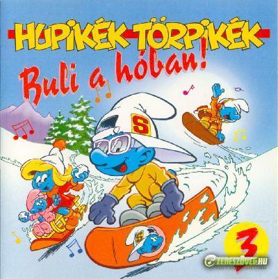 Hupikék törpikék Buli a hóban