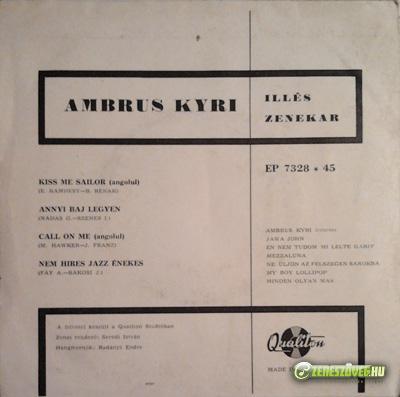 Ambrus Kyri Kiss Me Sailor/ Call On Me