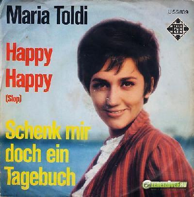 Toldy Mária Happy Happy - Schenk mir doch ein Tagebuch