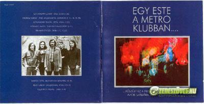 Metró Egy este a Metro Klubban...CD