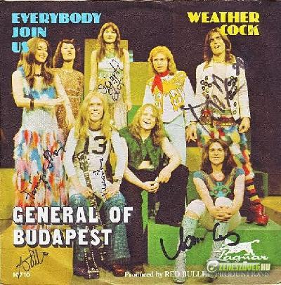 Generál General Of Budapest ‎– Everybody Join Us / Weather Cock