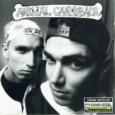 Animal Cannibals Fehéren fekete-feketén fehér