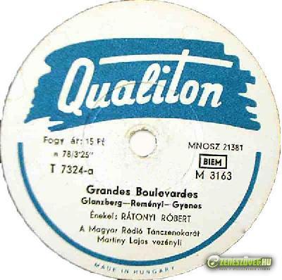 Rátonyi Róbert Grandes Boulevardes - Maga meg a maga húga