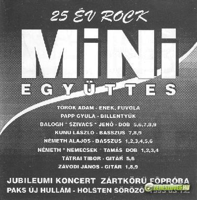 Mini 25 év Rock