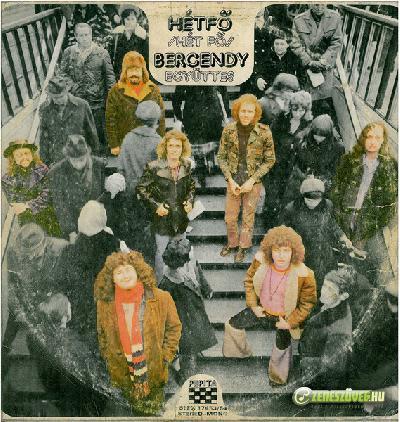 Bergendy - Koncert, Tánc, Jazz és Szalon Zenekar Hétfő (Dupla LP)