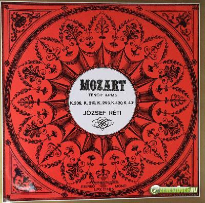 Réti József Mozart - Tenor arias