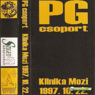PG csoport Klinika Mozi 1997. 10. 22. (kazetta)