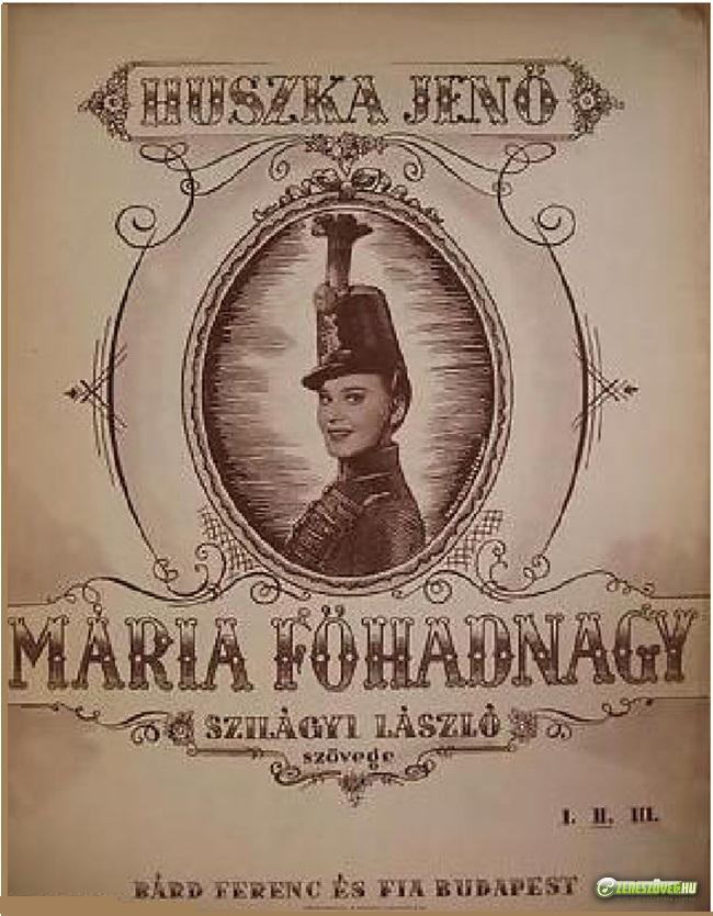 Mária főhadnagy (operett)